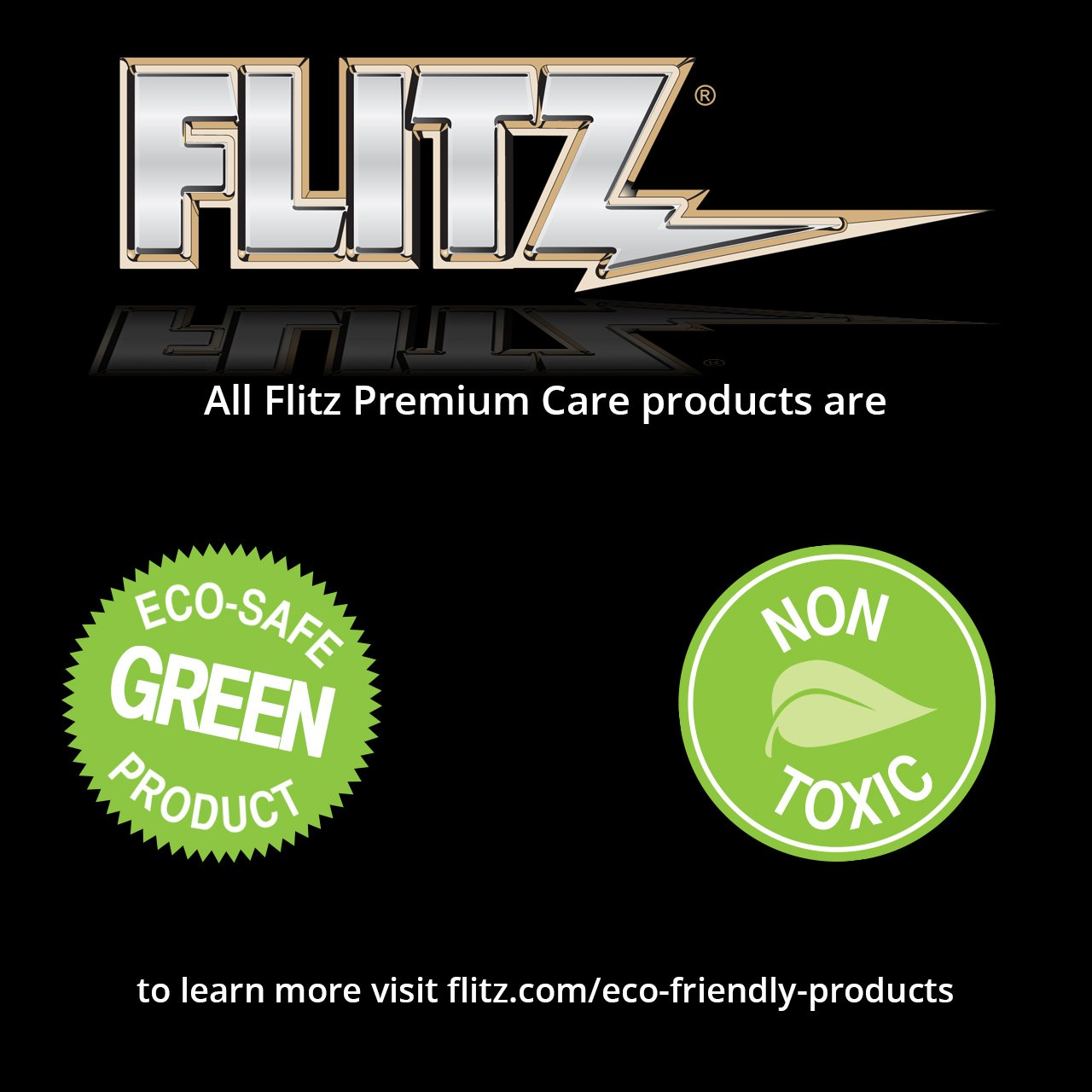 Flitz CR 01610 Instant Calcium, Lime and Rust Remover, 1 Gallon Refill Bottle by Flitz (Image #3)