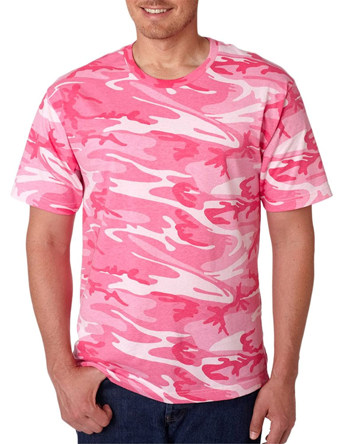 Discount Code V Adult Camouflage Ribbed Woodland T-Shirt supplier