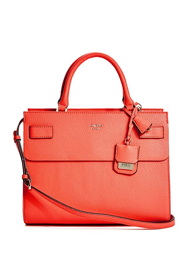 Guess Handtasche Cate HWVG6216060 Tomato: : Bekleidung