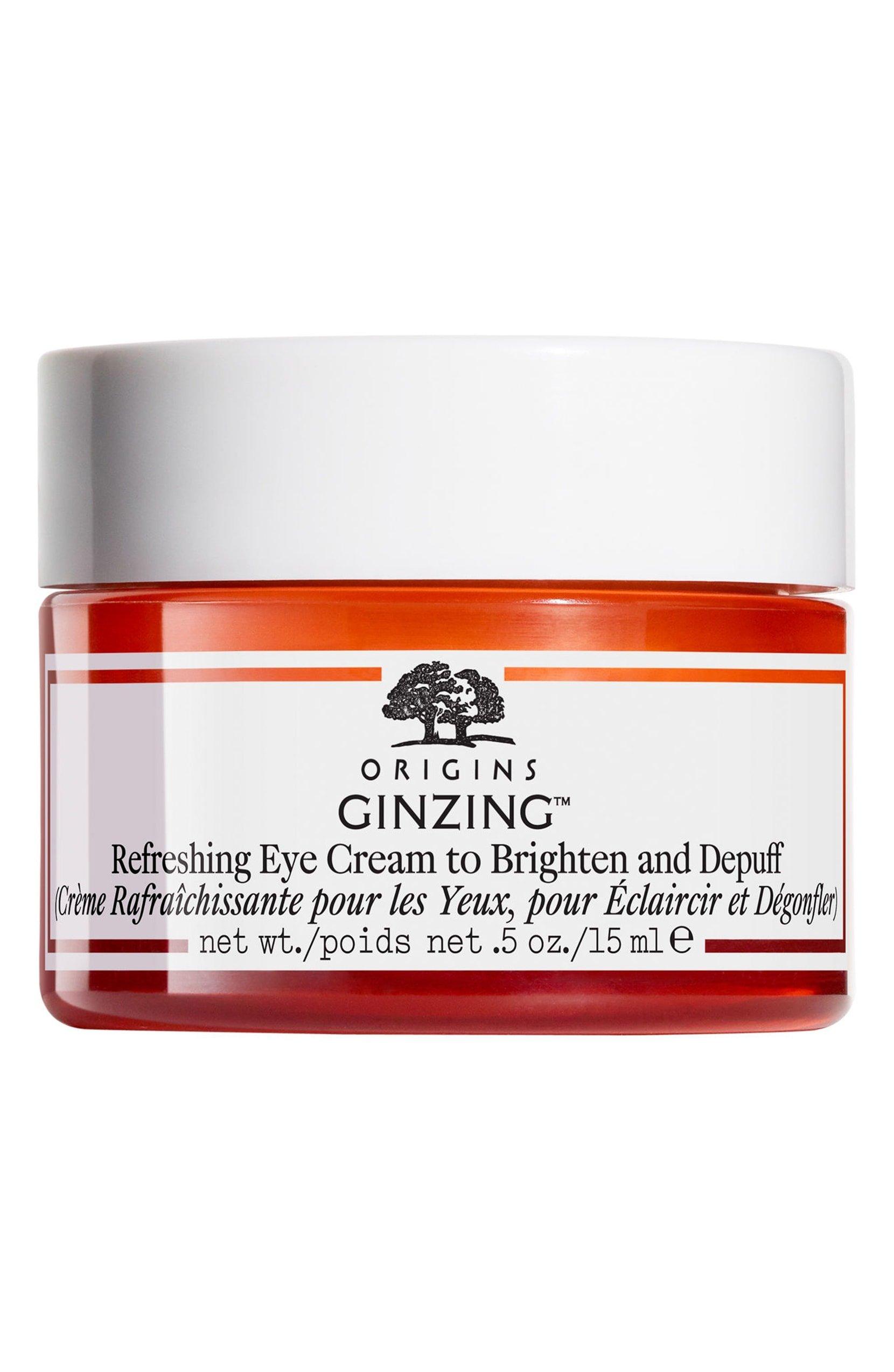 Origins Ginzing Refreshing Eye Cream To Brighten and Depuff By Origins for Unisex - 0.5 Oz Eye Cream, 0.5 Ounce