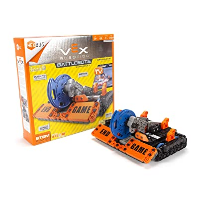 HEXBUG VEX Robotics End Game Toys for Kids, Fun Battle Bot Hex Bugs Construction Kit: Toys & Games