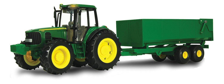 ERTL John Deere Big Farm Tractor with Wagon Tomy International (RC2) 46077