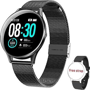 Smartwatch Reloj Inteligente, Impermeable IP68 Podómetro ...