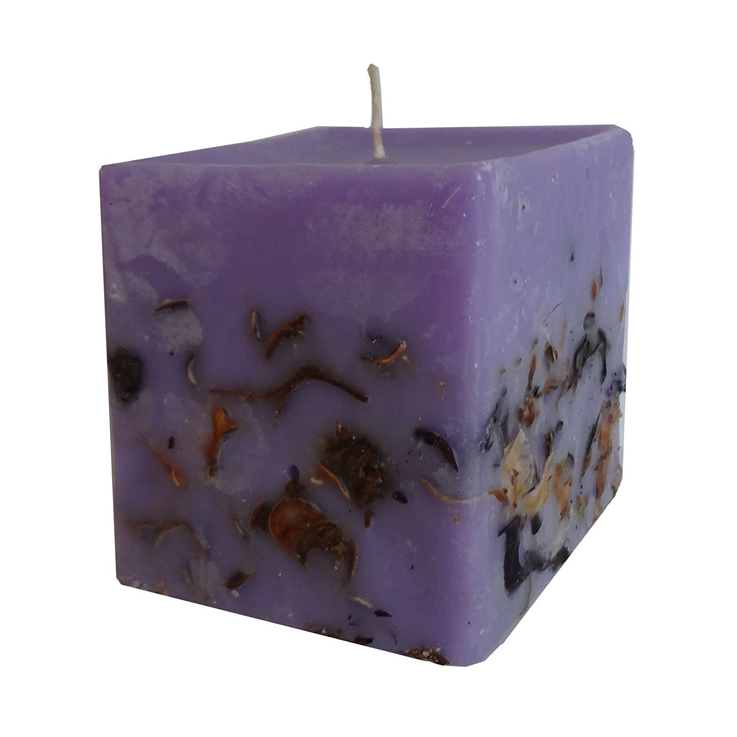 Lavender Candle - Aromatherapy - with Bulgarian Lavender Oil Bulgarian Rose