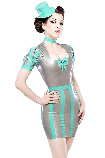 Vestido verde menta accesorios