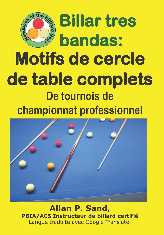 Billar tres bandas - Motifs de cercle de table complets: De ...