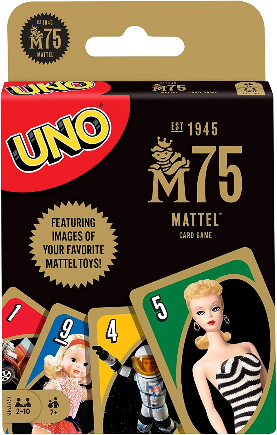 UNO Mattel 3th Anniversary Card Game for 3 Year Olds & Up