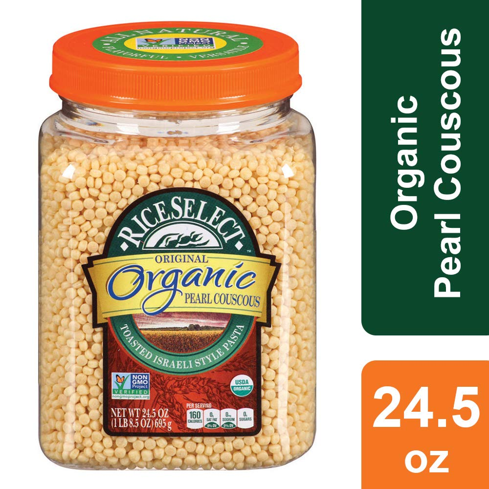 RiceSelect Organic Pearl Couscous, 24.5 Ounce by RiceSelect