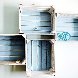 4 x masivas - cajas de madera usados - Cajas de vino - para ...