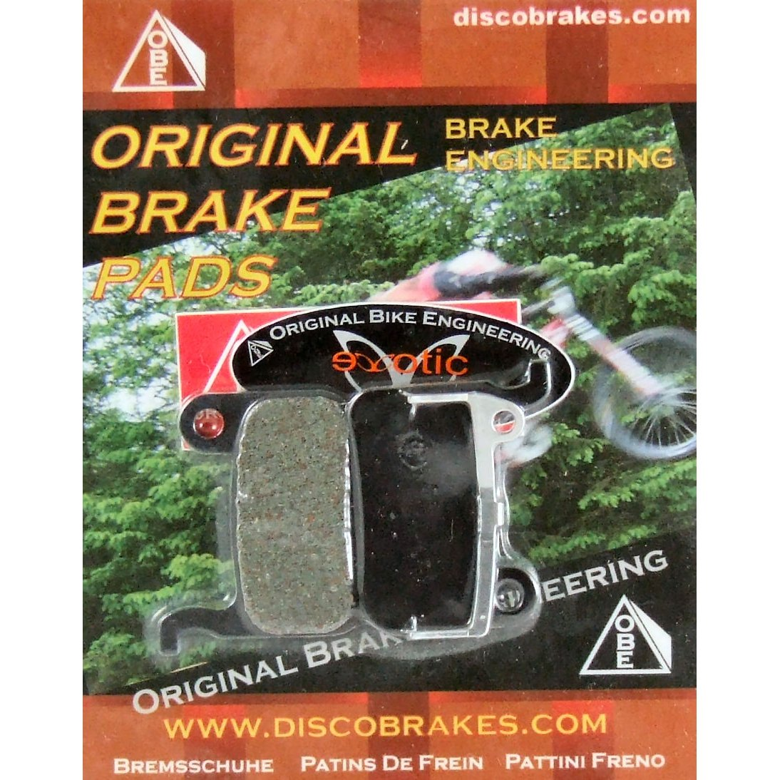 Shimano XTR XT Saint Hone Disc Brake Pads DiscoB BR-M975 M966 965 800 775 SLX LX