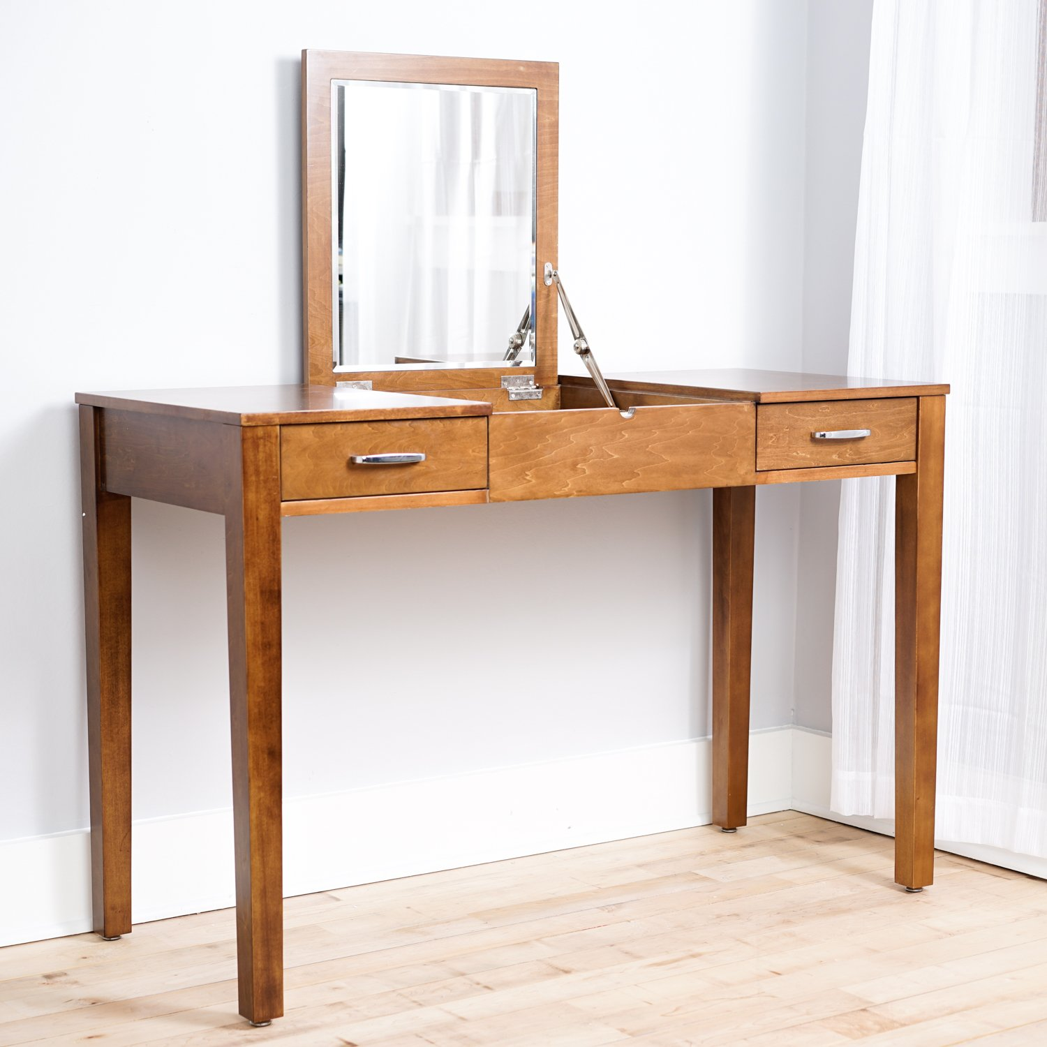 Amazon hives and honey hives honey ainsley vanity desk amazon hives and honey hives honey ainsley vanity desk brown kitchen dining geotapseo Images