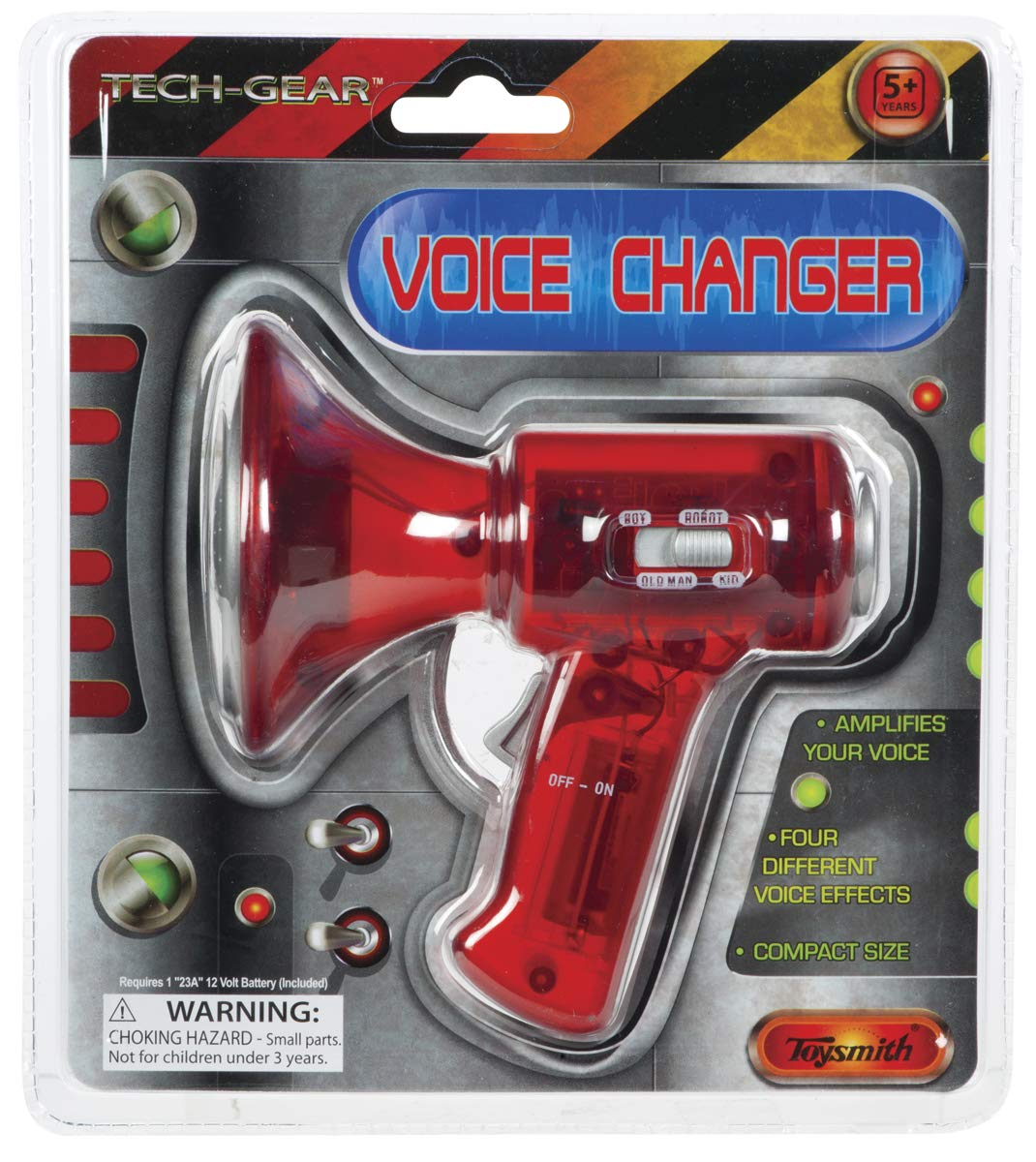 Toysmith 3.5' Small Voice Changer # 1378 - Colors May Vary Toy Smith