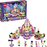 LEGO Friends Baking Competition 41393 Building Kit, LEGO Set Baking Toy, Featuring 3 LEGO Friends Characters and Toy Cakes, N