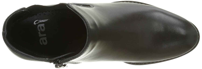 ara 12-44102, Bottes Classiques Femme - Noir - Noir (Schwarz 71), 38.5 EU