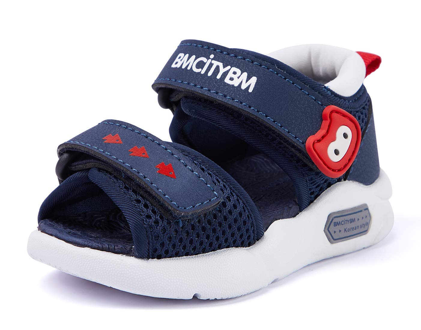 BMCiTYBM Infant Baby Girls Boys Sandals Toddler Summer Water Beach Shoes Non-Slip Mint Navy Blue US 6.5 Toddler by BMCiTYBM