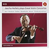 Jascha Heifetz Plays Great Violin Concertos
