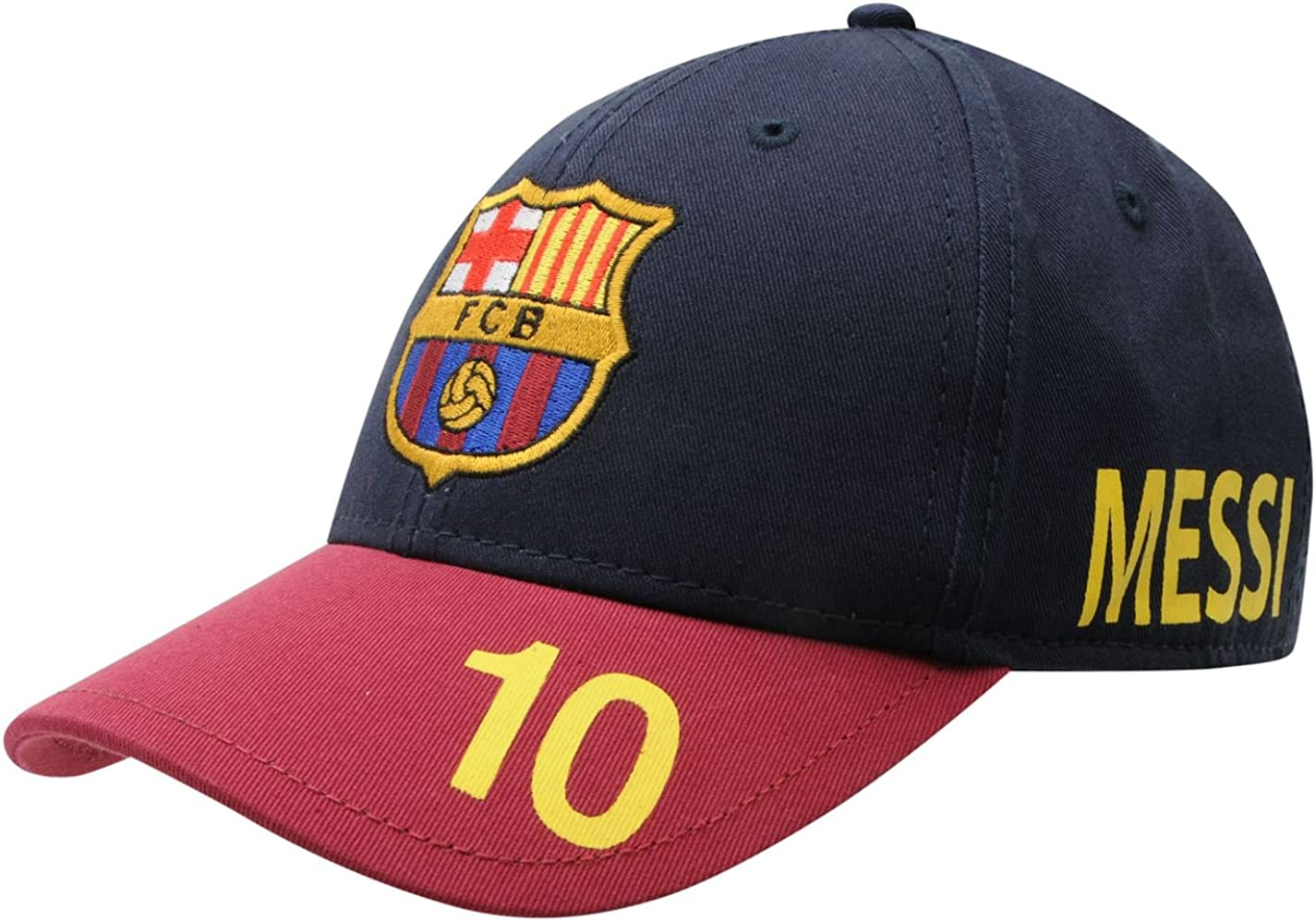 Gorra Cap Messi 10 Oficial FC Barcelona: Amazon.es: Ropa y accesorios