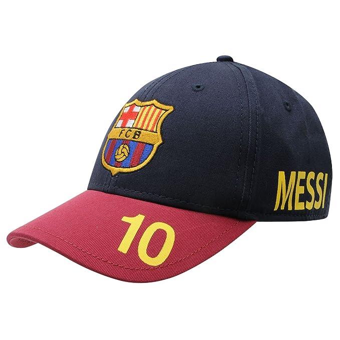 dedb290960dc9 Gorra Cap Messi 10 Oficial FC Barcelona  Amazon.es  Ropa y accesorios