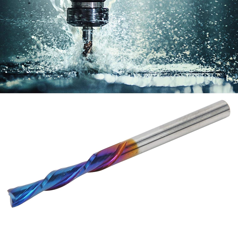 Spiral Cutter Carpenter Tool Shank CNC Machine Tools, 3.175 x 3.175 x 17 x 45