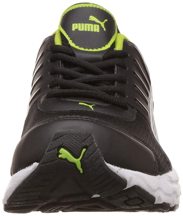 Puma Men's Talion IDP Puma Black Puma Silver Limepun Running Shoes 8 UKIndia (42 EU)