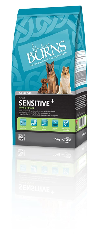GroceryCentre Burns Dog Food Sensitive with Pork Adult 15kg