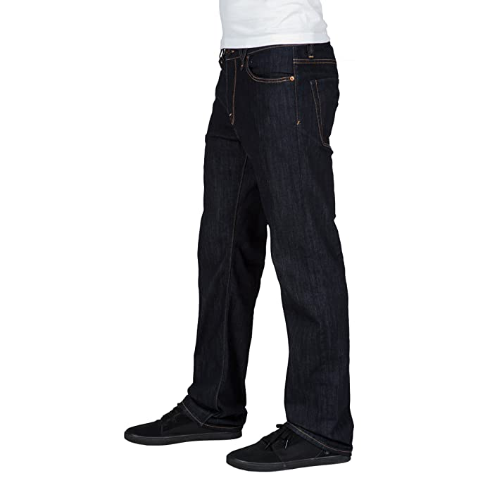Volcom Kinkade Loose Straight Fit - Relaxed - Homme: Amazon.fr: Sports et  Loisirs