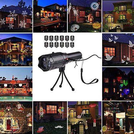 WYBFBYQ Navidad, Las Luces del proyector de proyección de ...