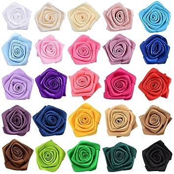 Milopon Rosen Blumen Band Kleine Diy Deko Blumen Fur Hand