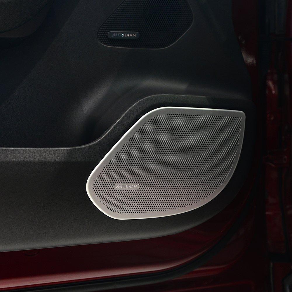 4X Porte de voiture en alliage d'aluminium Housse pour enceinte Trim pour JAG F-pace F rythme X761201620172018 BEINSTOCK