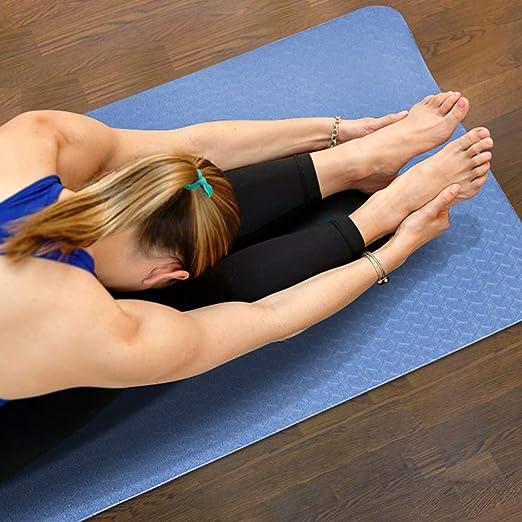 Amazon.com: XGEAR Yoga Mat with Carrying Strap - Non-Slip ...