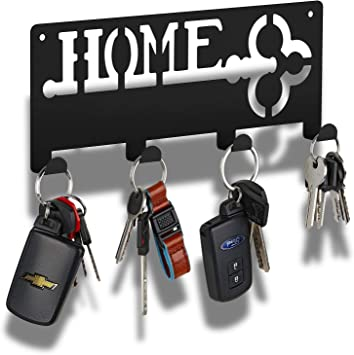 4 Hook Key Holder