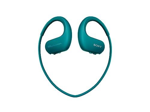 Sony NWWS413 Walkman - Reproductor MP3 deportivo (4 GB, resistente al agua salada y altas temperaturas), color azul