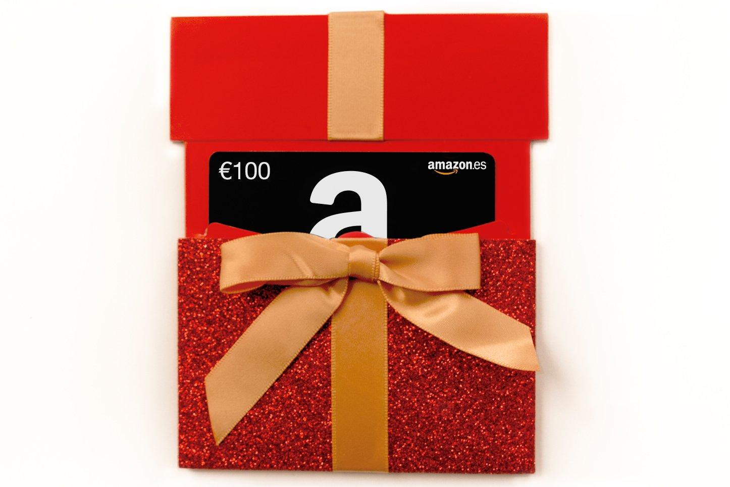 Tarjeta Regalo de Amazon.es en un estuche - Envío 1 día gratis Cheques Regalo Amazon.es