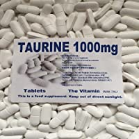 The Vitamin Taurine 1000mg 1000 Tablets BUY IN BULK FREE POSTAGE