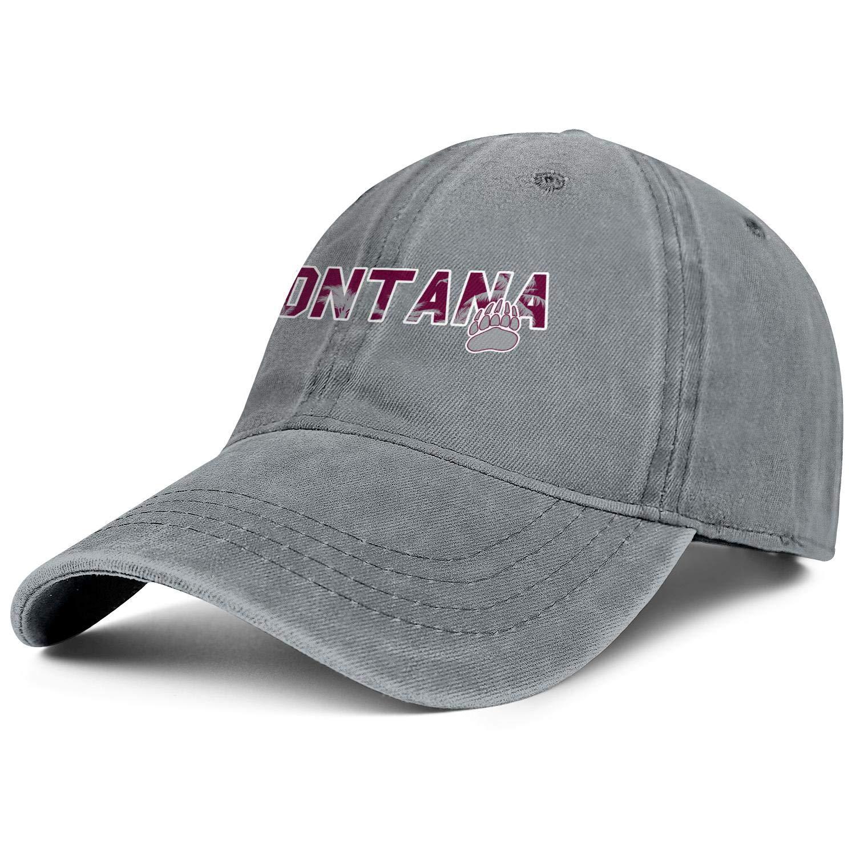 YkRpJ Denim Caps Adjustable Designer Tennis Hat for Women Men