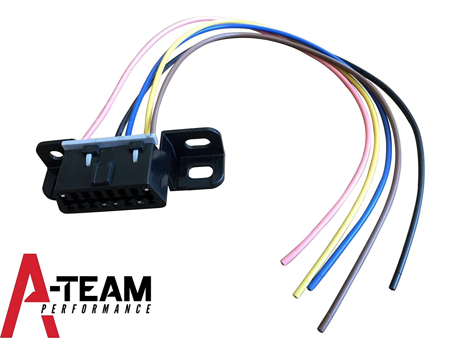 Amazon.com: A-Team Performance OBD II, OBD2 DASH PORT WIRE PIGTAIL CONNECTOR  PLUG IN CHEVY/GMC LS, LSX, LS1, LS2, LS3, LS6, LS7, L92, LQ4, LM7 4.8L 5.3L  ...