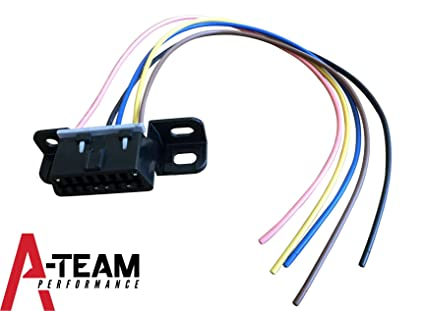 amazon com a team performance obd ii obd2 dash port wire pigtail rh amazon com  electrical wiring pigtail connectors