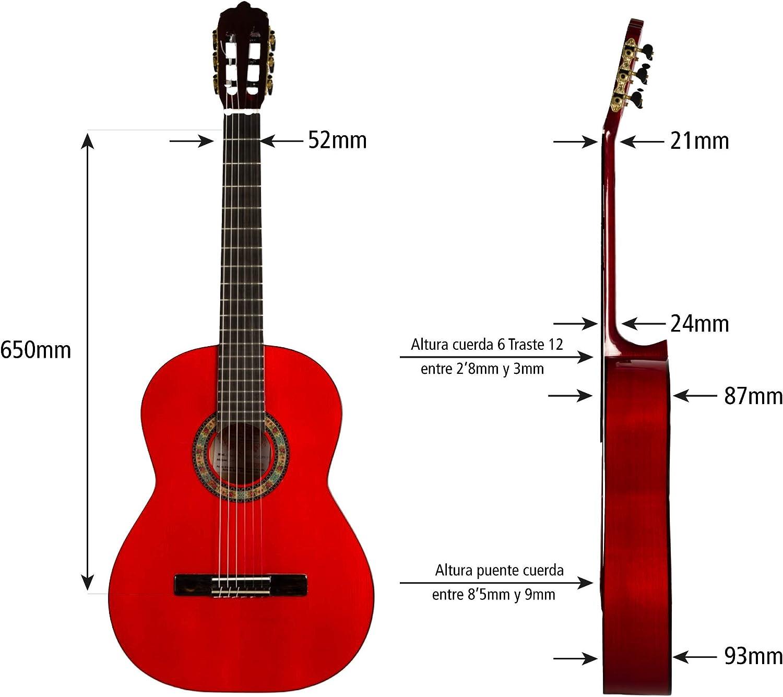 Guitarra Flamenca flaca hecha a de Barcelona, España: Amazon.es ...