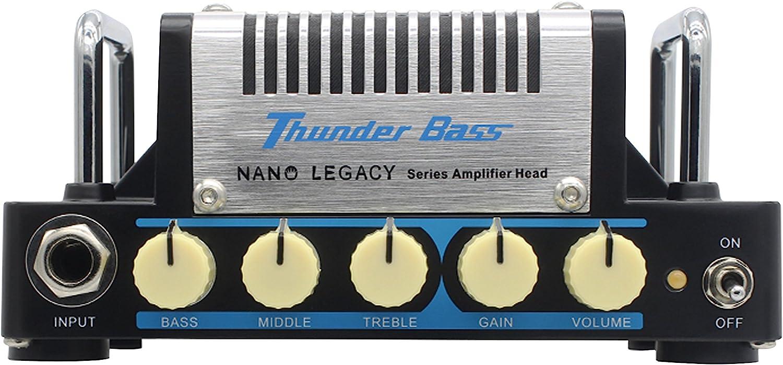 Hotone Thunder Bass Cabezal amplificador de bajo: Amazon.es ...