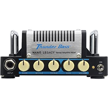 hotone thunder bass 5 watt mini bass guitar amplifier head hotone musical instruments. Black Bedroom Furniture Sets. Home Design Ideas