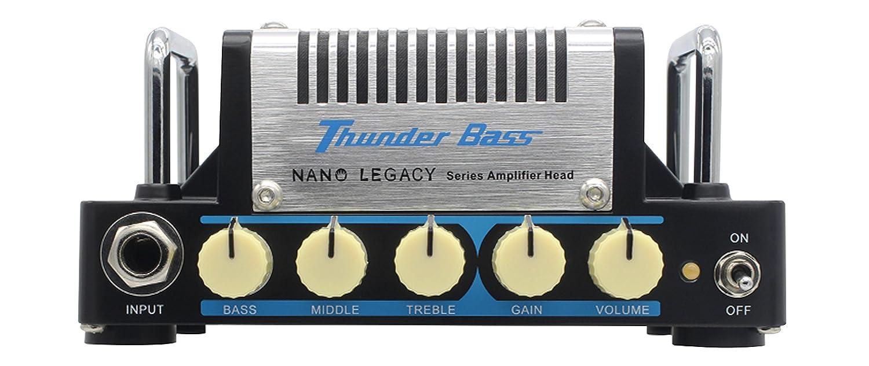 Hotone Thunder Bass Cabezal amplificador de bajo: Amazon.es: Instrumentos musicales