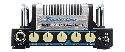 Hotone Thunder Bass Cabezal amplificador de bajo