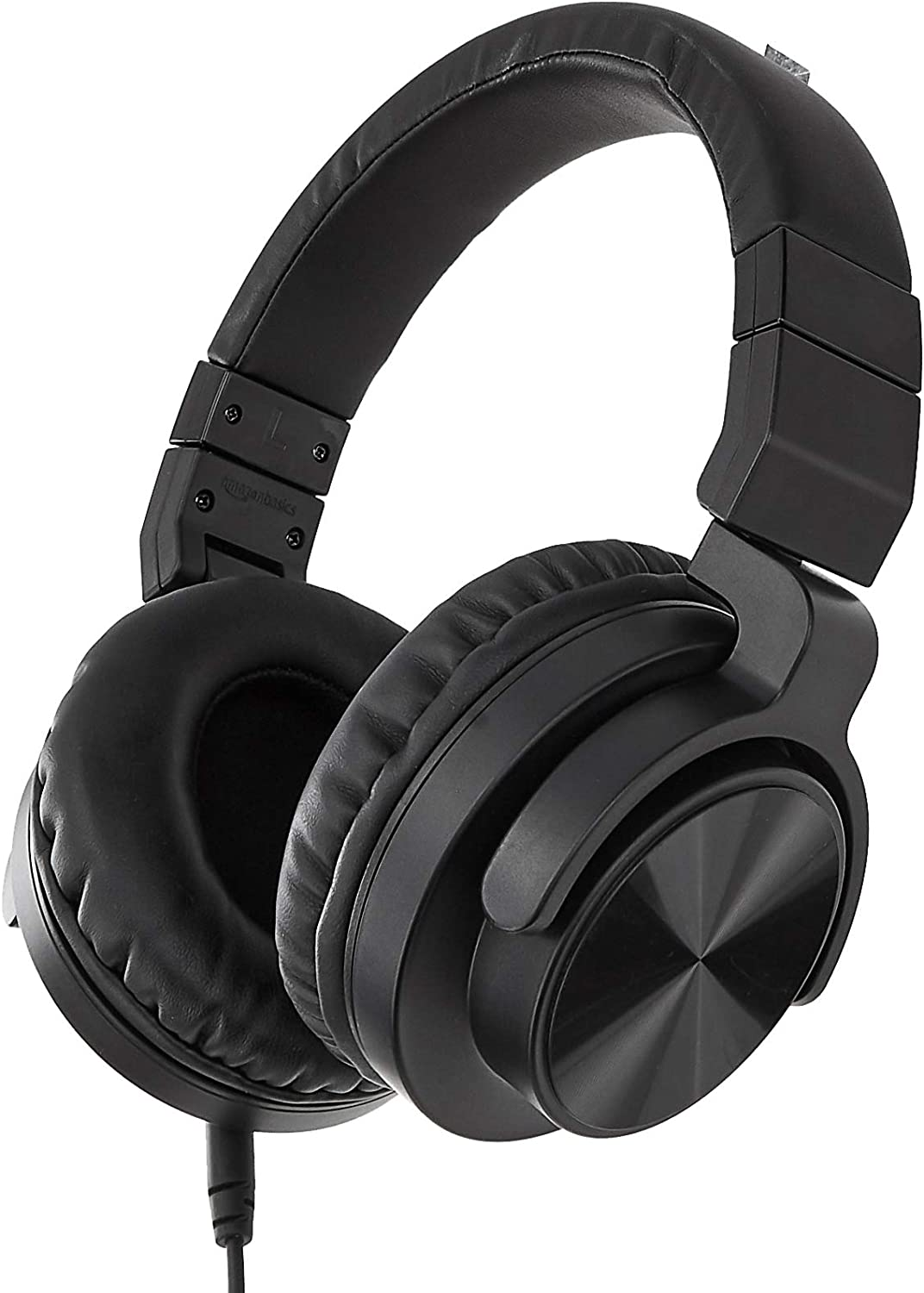 AmazonBasics Over-Ear Studio Monitor Headphones - Black