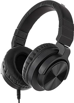 Amazon Basics Over-Ear Studio Monitor Headphones