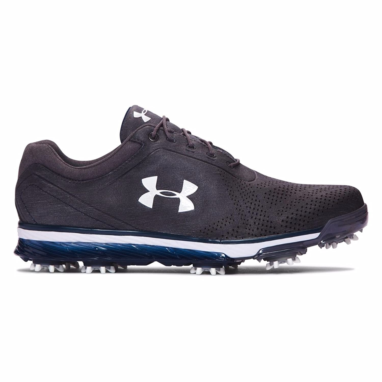 【New Color (5Colors) 】Under Armour Tempo Tour Golf Shoes (アンダーアーマー テンポツアー /ジョーダンスピース ゴルフシューズ)#1270205 (Gravel / Midnight Navy, 29cm(US11)) [並行輸入品]   B071W4DH6Y