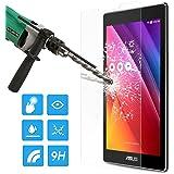 ATiC ASUS Zenpad C 7.0 Z170C タブレット専用強化ガラス液晶保護フィルム 表面硬度9H/2.5Dラウンド処理/耐衝撃/高透明度/指紋防止/気泡ゼロ 透明 (一枚)