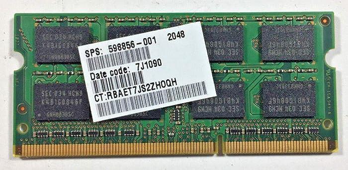 HP Pavilion DV6-2150US 2GB Memory Module 598856-001