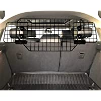 UCAS Heavy-Duty Dog Barrier, Adjustable to Fit Cars, SUVs, and Vehicles, Smooth Designed Pet Wire Barriers, Black