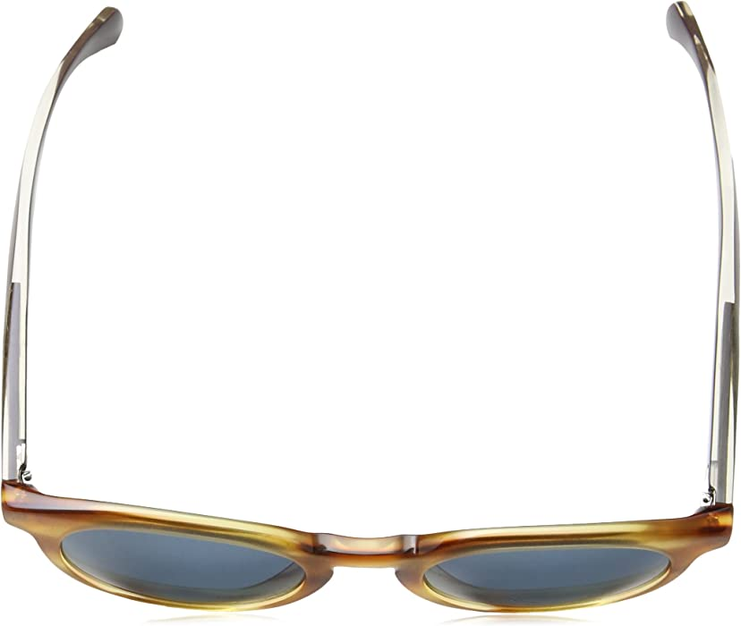 b2237a69c6 0912 S Men s Round Sunglasses. Hugo Boss B0912 S 1K19A 50mm Horn Cystal  Brown   Blue Sunglasses. Back. Double-tap to zoom