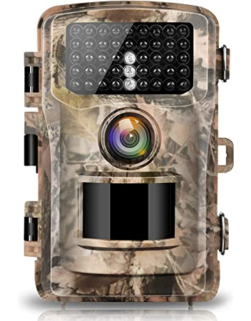 Campark Cámara de Caza 14MP 1080P IP56 Impermeable Trail Cámara 120 ° Gran Angular Nocturna Infrarrojos